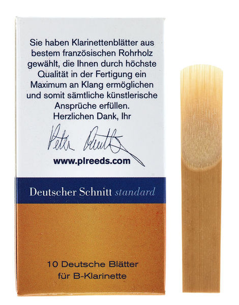Peter Leuthner German Bb-Clarinet 3.5 Stand