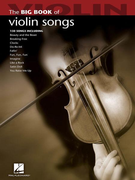 Hal Leonard Big Book Of Violin Songs