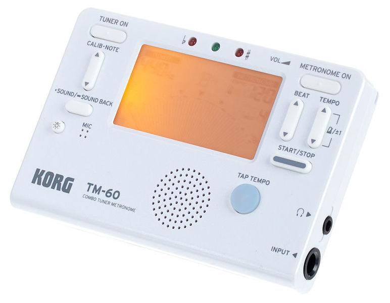 Korg TM-60C White