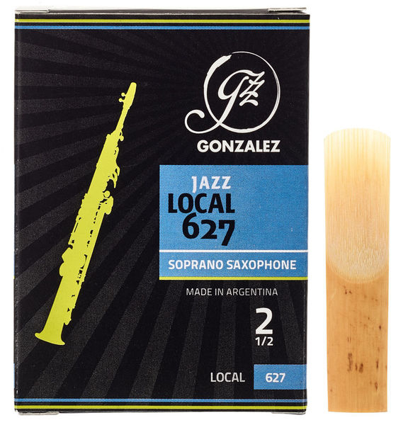 Gonzalez Local 627 Soprano Sax 2.5
