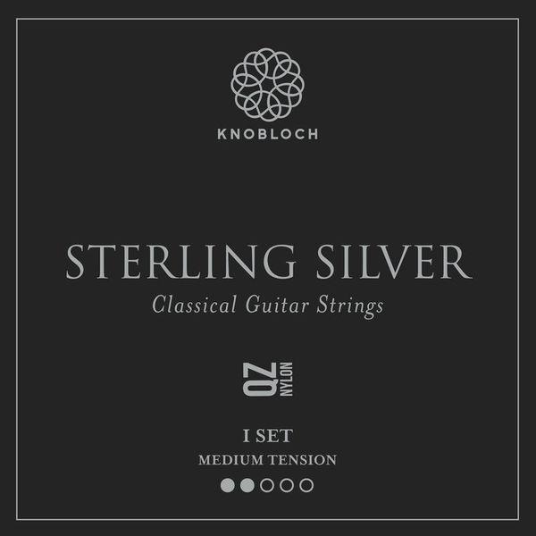 Knobloch Strings Pure Sterling Silver Nylon 300