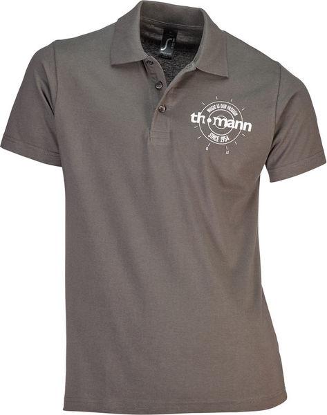 Thomann Polo-Shirt Grey XL