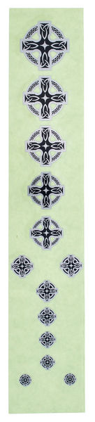 Jockomo Fret Mark-Celtic Cross