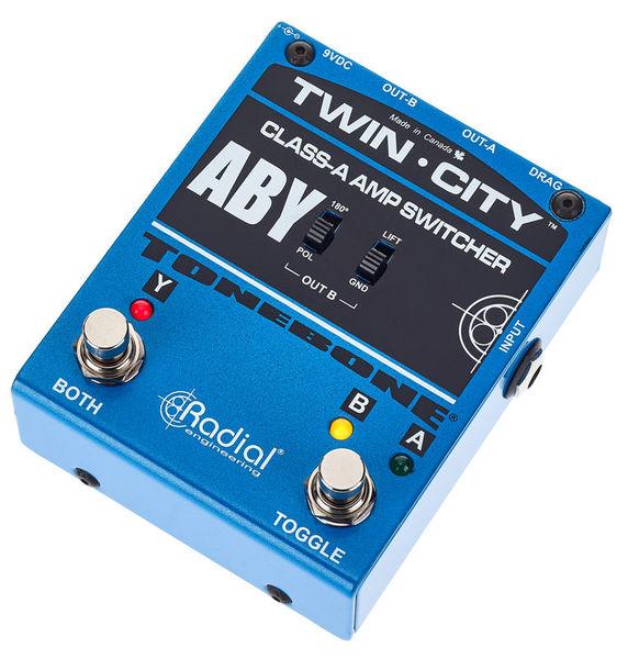 Radial Engineering Tonebone Twin City ABY