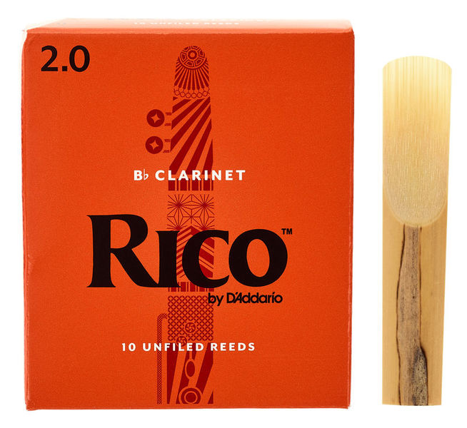 DAddario Woodwinds Rico Bb- Clar 2.0