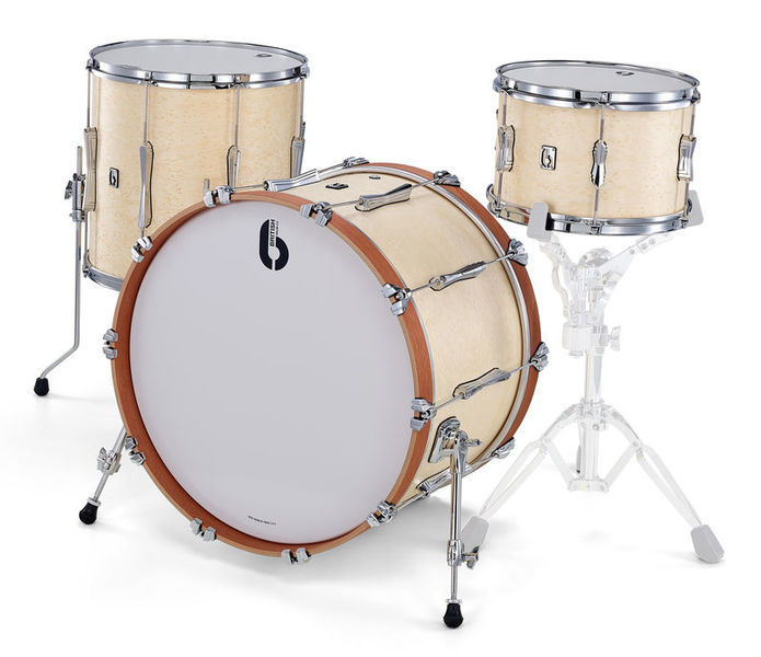 """British Drum Company Lounge Series 22"""" Wilt. White"""