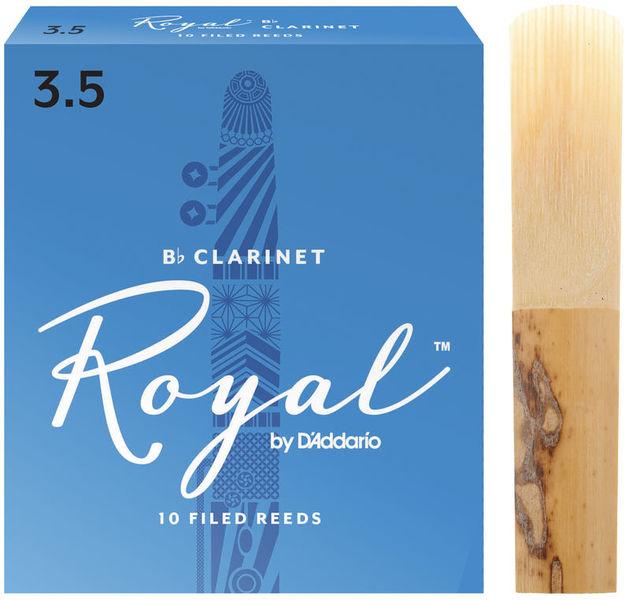DAddario Woodwinds Royal Bb- Clarinet 3.5