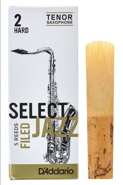 DAddario Woodwinds Select Jazz Filed Tenor 2H