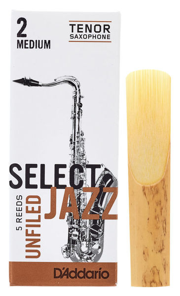 DAddario Woodwinds Select Jazz Unfiled Tenor 2M