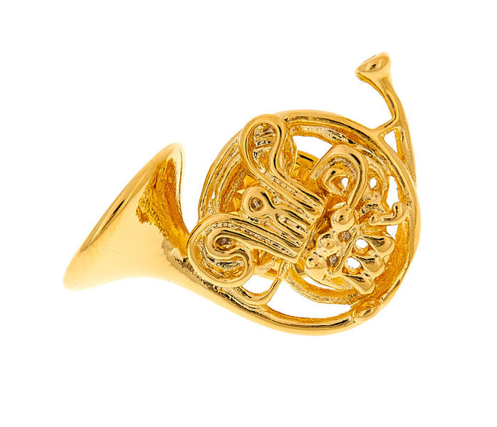 Art of Music Pin French Horn