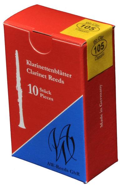 AW Reeds 105 German Clarinet 3.5