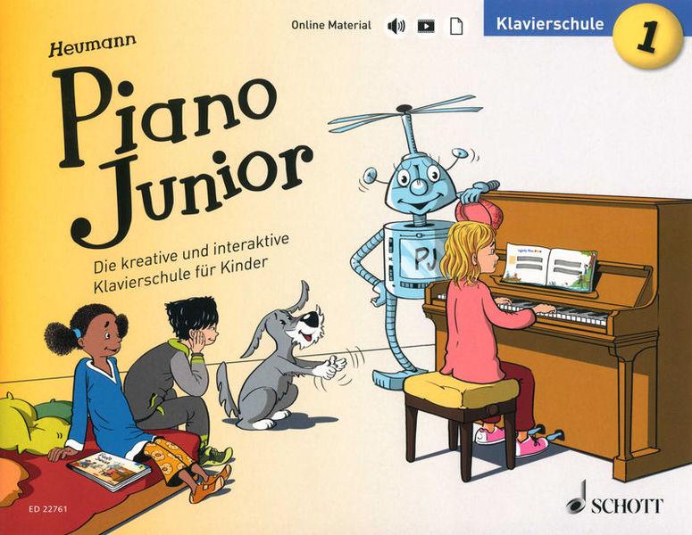 Schott Heumann Piano Junior Schule 1