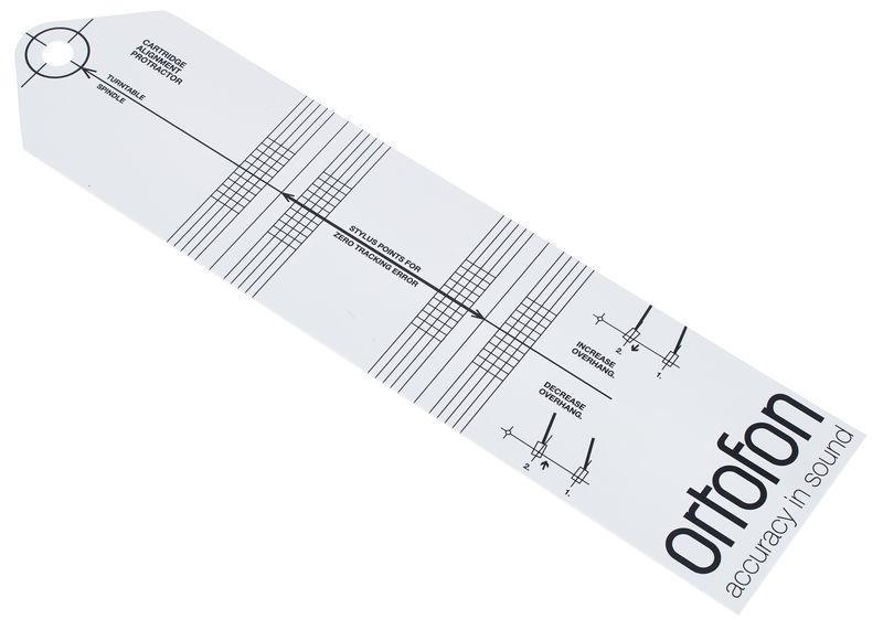 Ortofon Cartridge Alignment Protractor