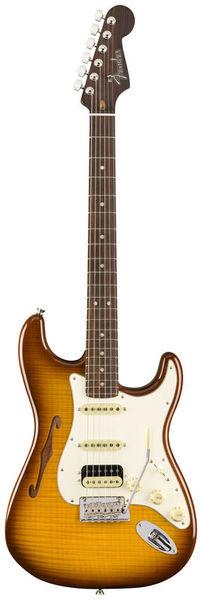 Fender US Thin FLM Strat HSS RW VB