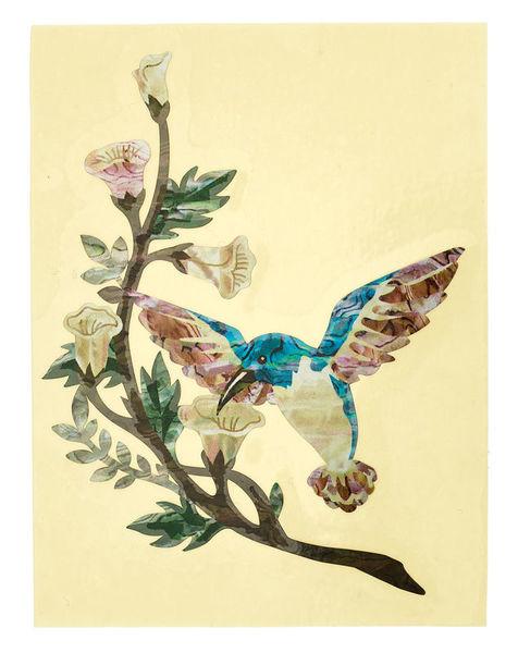 Jockomo AS Hummingbird Inlay Sticker