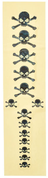 Jockomo Skull Fret Markers Sticker BP