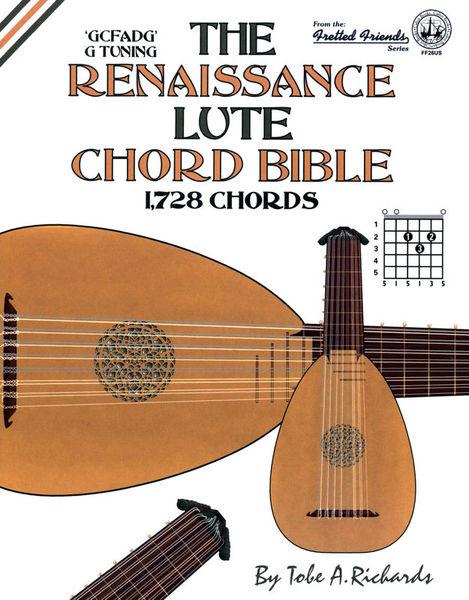 Cabot Books Publishing Renaissance Lute Chord Bible