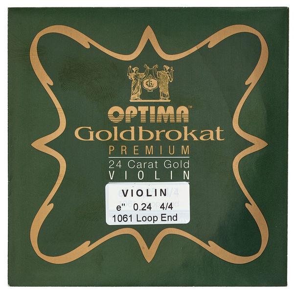 """Optima Goldbrokat 24K Gold e"""" 0.24 LP"""