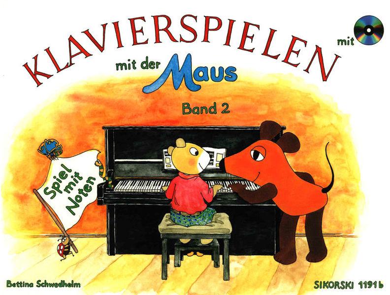 Sikorski Musikverlage Klavierspielen Maus 2 +CD