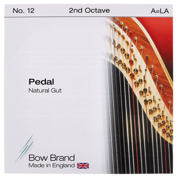 Bow Brand Pedal Nat. Gut 2nd A No.12
