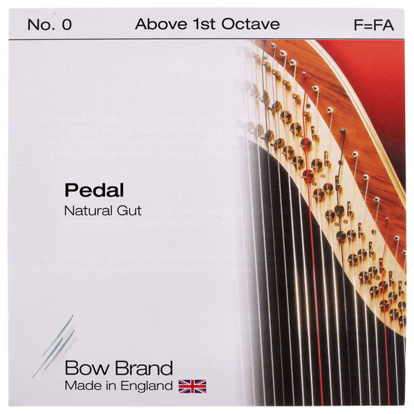 Bow Brand Pedal Natural Gut F No.0