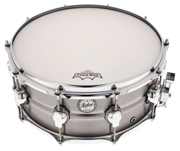 "DS Drums 14""x06"" Rebel Steel Snare"