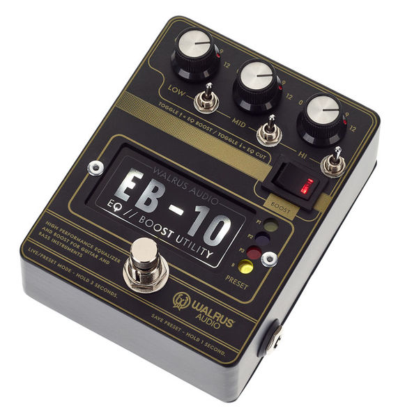 Walrus Audio Walrus Audio EB-10 BLACK