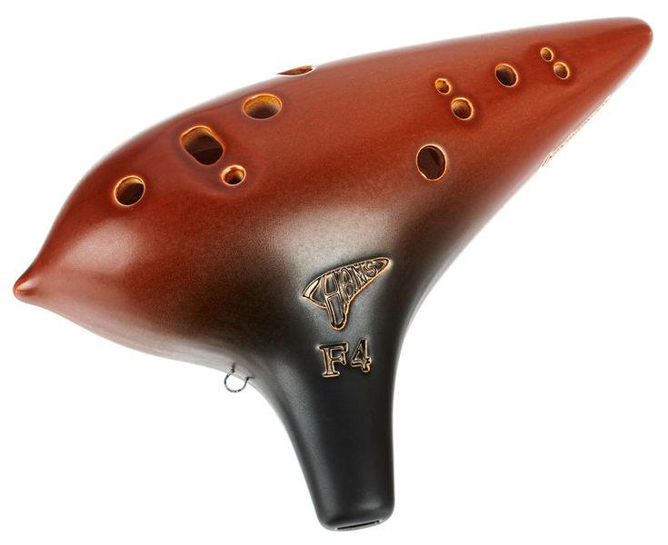 ocarinamusic 12-H Ocarina F4 Signature AF
