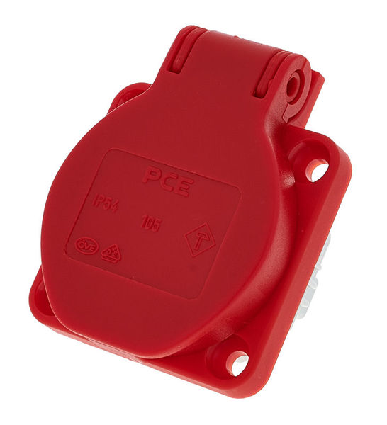 PCE 105-0r S-Nova Socket Red
