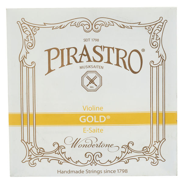 Pirastro Gold E Violin 4/4 SLG strong