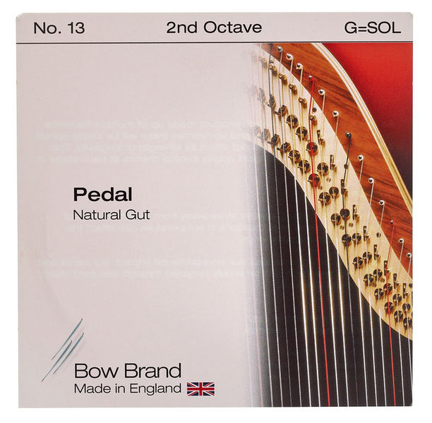 Bow Brand Pedal Nat. Gut 2nd G No.13