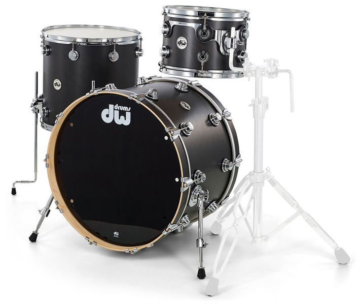 DW Satin Oil 3-piece JG Ebony