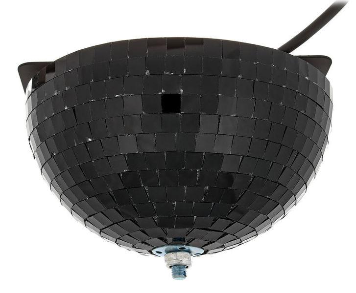Eurolite Half Mirror Ball 20cm black