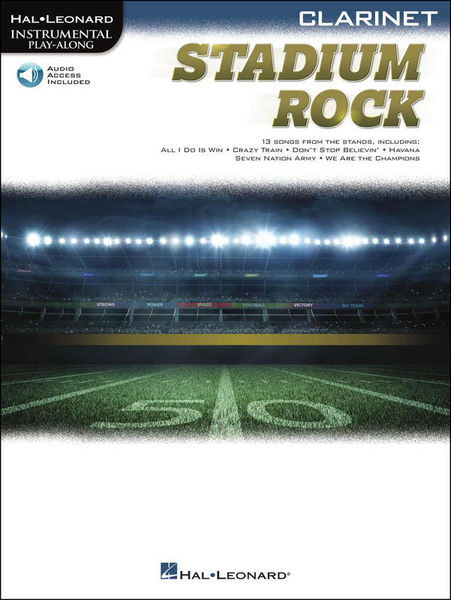 Hal Leonard Stadium Rock Clarinet