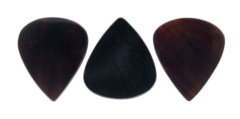 Clayton Sleek Horn Plectrum Set