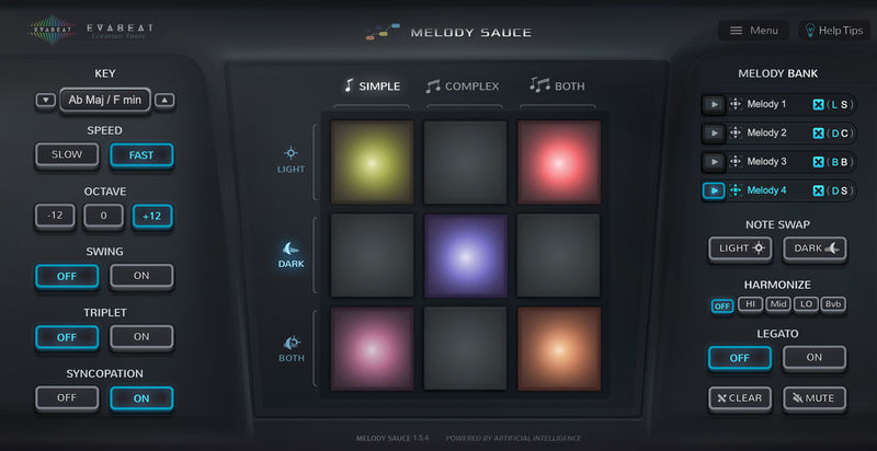 EVAbeat Melody Sauce
