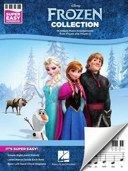 Hal Leonard Frozen Collection Super Easy