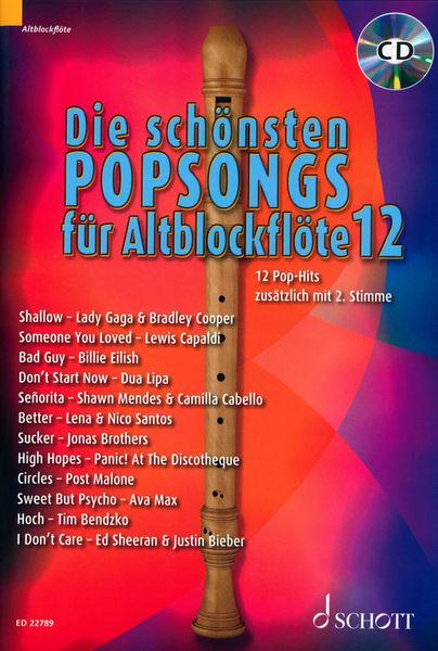 Schott Die Schönsten Popsongs 12