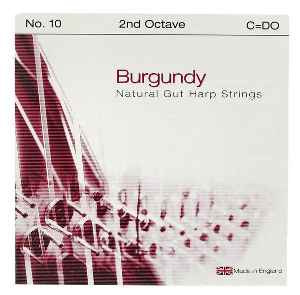 Bow Brand Burgundy Ped. 2nd C Gut No.10