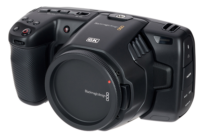 Blackmagic Design Pocket Cinema Camera 6k Thomann Uk
