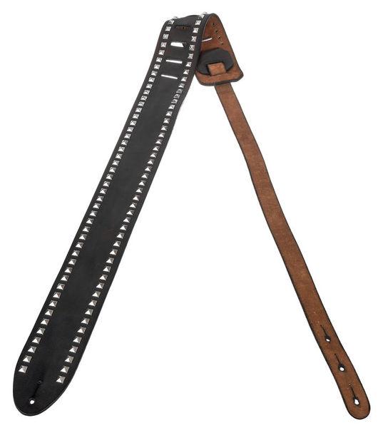 LCB Company Guitar Leather Strap Metal