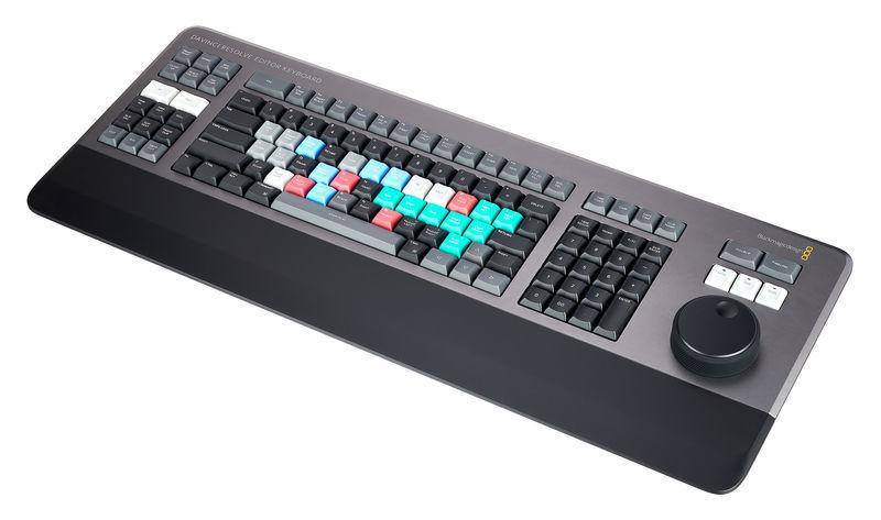 Blackmagic Design DaVinci Resolve Editor Keyboar