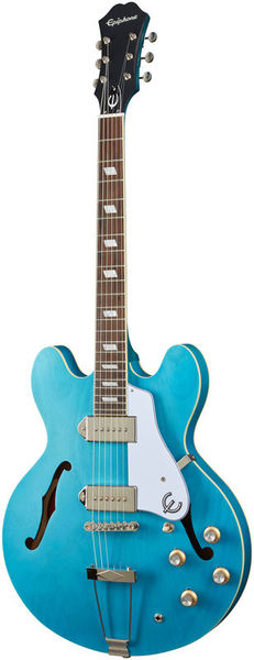 Casino Worn Blue Denim Epiphone
