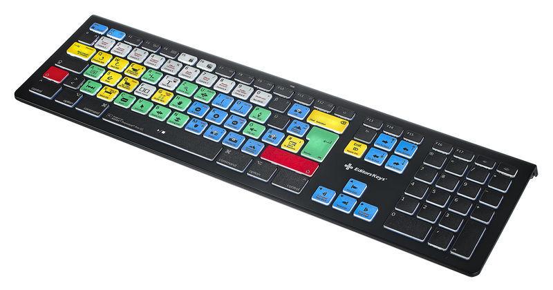 Editors Keys Backlit Key. Prem. Pro Mac DE
