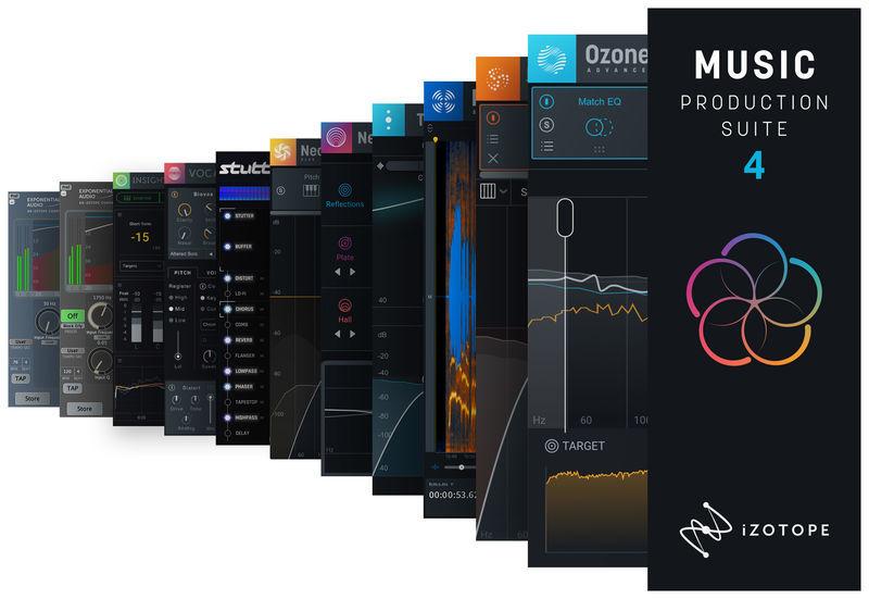 iZotope Music Production Suite 4 EDU