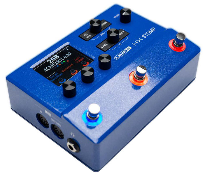 Line6 HX Stomp LTD Run Blue
