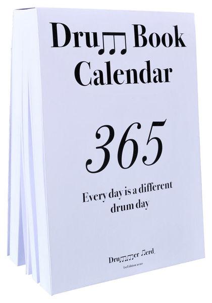Drum Book Calendar Drummer Nerd
