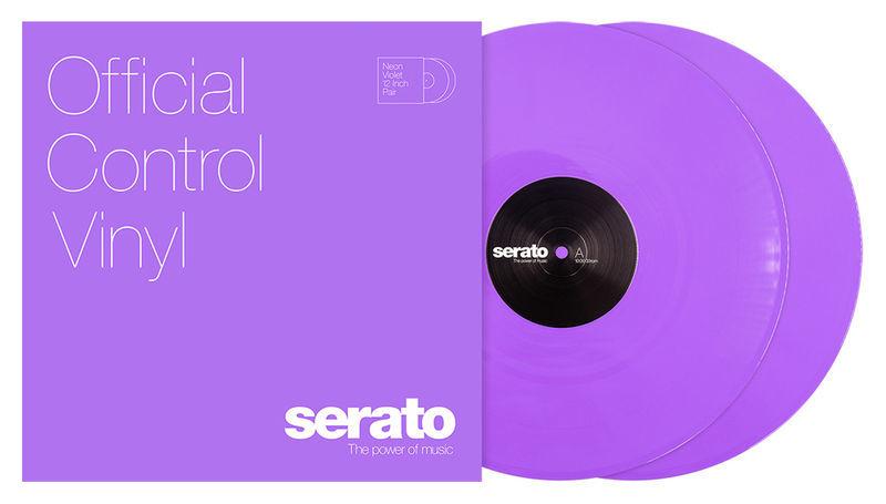 Neon-Series Vinyl Violet Serato