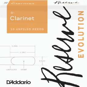 DAddario Woodwinds Reserve Evolution Clar 3.0
