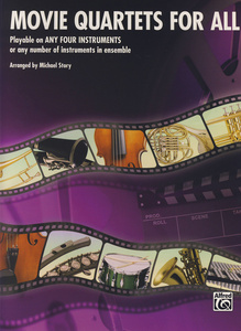 Alfred Music Publishing Movie Quartets for All Horn